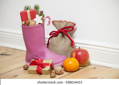 Santa Boots as a gumboot