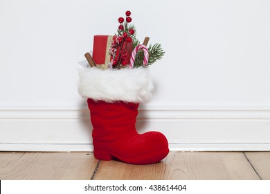 Santa Boots on floor