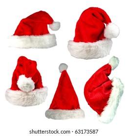 Santa cap collection