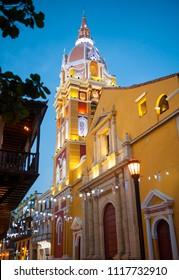 Santa Catalina de Alejandria cathedral, Cartagena de Indias, Colombia.