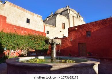 Santa Catalina Monastery in Arequipa (Peru)