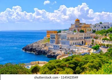 Santa Cesarea Terme - Salento Apulia region - Lecce province - south Italy .