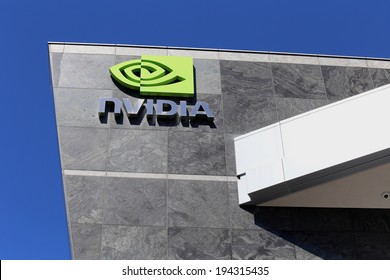 SANTA CLARA, CA � MARCH 18: The Nvidia World Headquarters located in Santa Clara, California on March 18, 2014. Nvidia is an American global technology company which makes graphics processing units.