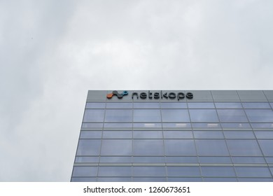 Santa Clara, California - Dec 5, 2018: Netskope corporate office building.