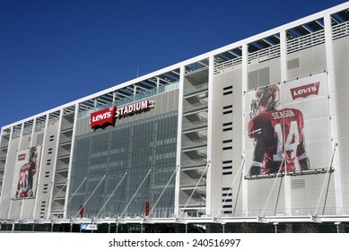 SANTA CLARA, CALIFORNIA - DECEMBER 27: Levis Stadium The New Home Of The San Francisco 49ers December 27, 2014 in Santa Clara, California
