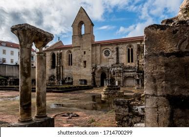 Santa Clara-a-Velha Monastery at Coimbra, Portugal