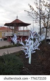 santa claus, christmas tree, christmas