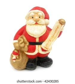 Santa Claus figure christmas decoration