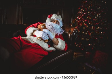 Santa claus lifestyle moments