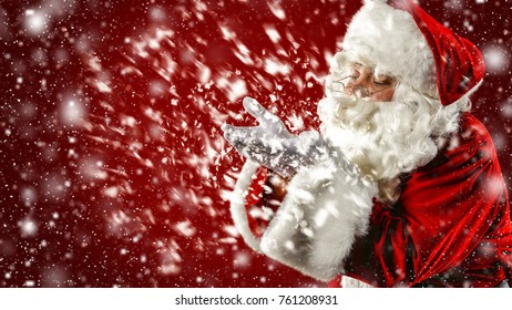 Santa Claus and magic night