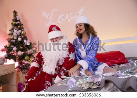 Sexy santa pajamas