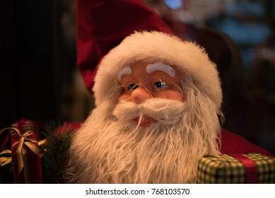 Santa Claus statue
