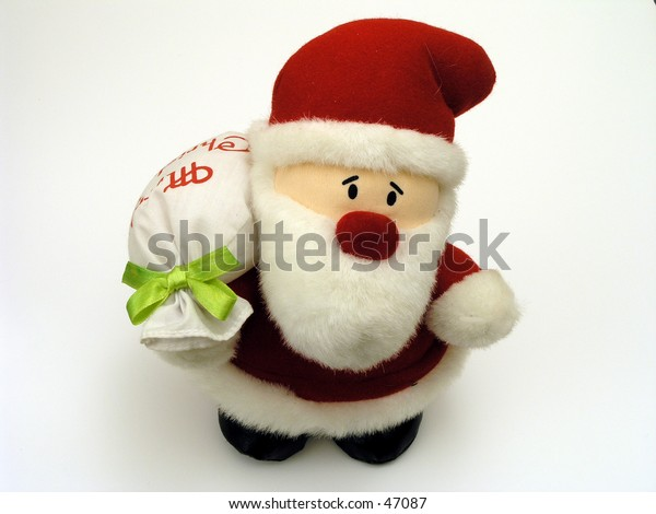 Santa Claus stuffed toy