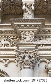 Santa Croce Basilica. Lecce. Puglia. Italy.