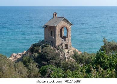 Santa Croce Chapel, Alassio, Italian Riviera