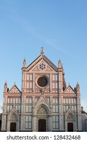 Santa Croce, rebuilt for the Franciscan order in 1294 by Arnolfo di Cambio, is the burial place for the great and good in Florence.