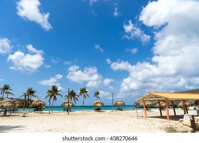 Santa Cruz beach   Curacao a small Caribbean Island in the Netherlands Antilles