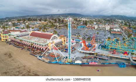 Santa Cruz Beach Boardwalk's vintage rides and 1911 Looff Carousel and the Giant Dipper roller coaster.