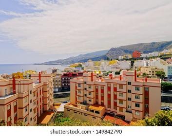 Santa Cruz - capital city of the island La Palma, Canary Islands, Spain