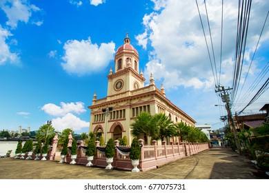Santa Cruz Church in bangkok thailand