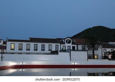 Santa Cruz da Graciosa at night, Graciosa island, Azores