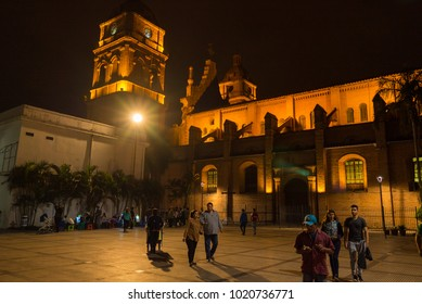 Santa Cruz de la Sierra, Bolivia - June 30,2017- Cathedral of San Lorenzo Santa Cruz de la Sierra, Bolivia