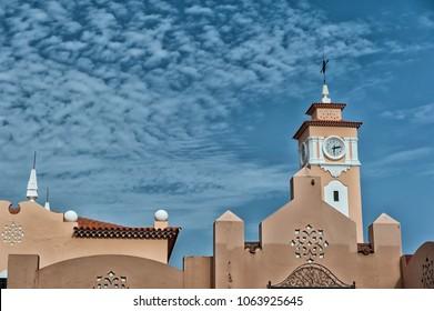 Santa cruz old church in Tenerife