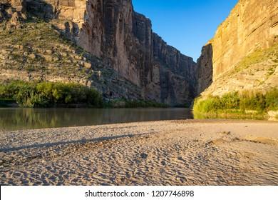 Santa Elena Canyon in the Big Bend National Park, Texas