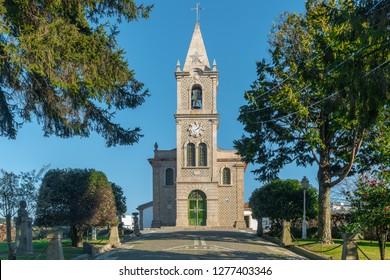 Santa Eulalia church in Pacos de Ferreira, north of Portugal. Mother church