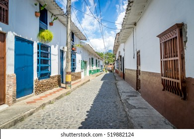 Santa Fe de Antioquia historic town in the Western Andean highlands -  Views around the Andes, Columbia south America