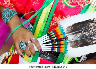 Santa Fe Indian Market, Fashion show, Native American