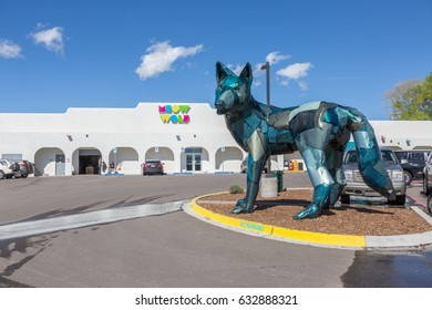 Santa Fe, New Mexico– April 30th, 2017: Meow Wolf art collective in Santa Fe, New Mexico, United States. Open to the public the main exhibit is the The House of Eternal Return.