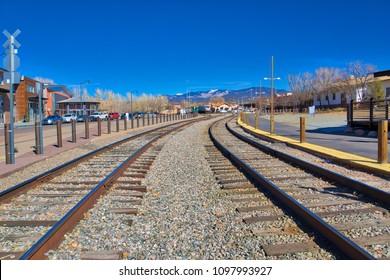 Santa Fe New Mexico Historical Railyard