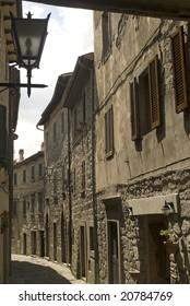 Santa Fiora (Grosseto, Tuscany, Italy) - Old street