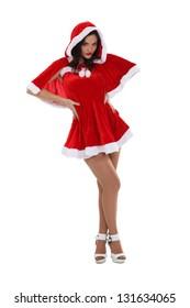 Santa has a sexy wife