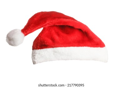 Santa hat isolated on a white background