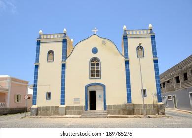 Santa Isabel Church in Sal Rei, Boa Vista, Cabo Verde