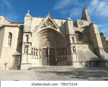 Santa María la Mayor Archpriestal Church in Morella, Spain