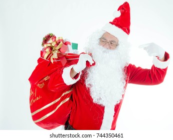 Santa is a legendary figure of Western Christian culture who is said to bring gifts to the homes of well-behaved children on Christmas Eve and the early morning hours of Christmas Day