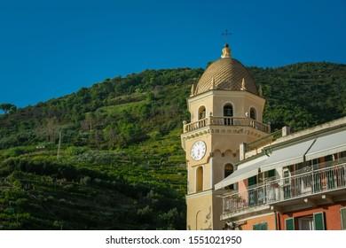Santa Margherita di Antiochia Church, Vernazza, Cinque Terre, La Spezia, Italy