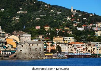 Santa Margherita Ligure Resort on the Italian Riviera, Europe