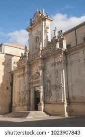Santa Maria Asunta cathedral in Lecce, Southern Italy