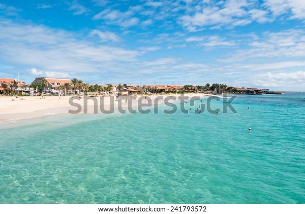 Strand Santa Maria in Sal Kap Verde - Cabo Verde