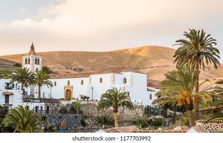 Santa Maria Church in Betancuria in Fuerteventura, Canary Islands, Spain.