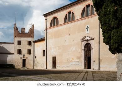 Santa Maria in Colle Church in Bassano del Grappa, Italy