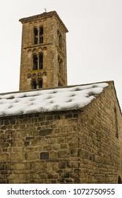 Santa Maria de Taull chuch, Pyrenees,, Vall de Boi, Lleida, Catalonia, Spain