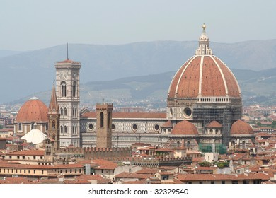 Santa Maria del Fiores, more commonly known as the Duomo of Florence.