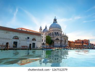 Santa Maria della Salute in Venice at sunrise