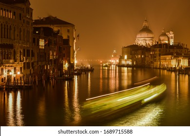 Santa Maria della Salute in Venice at the Canal Grande
