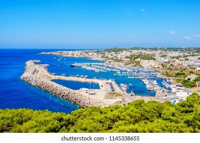 Santa Maria di Leuca pier harbor marina - Salento - Apulia - Lecce province - Italy